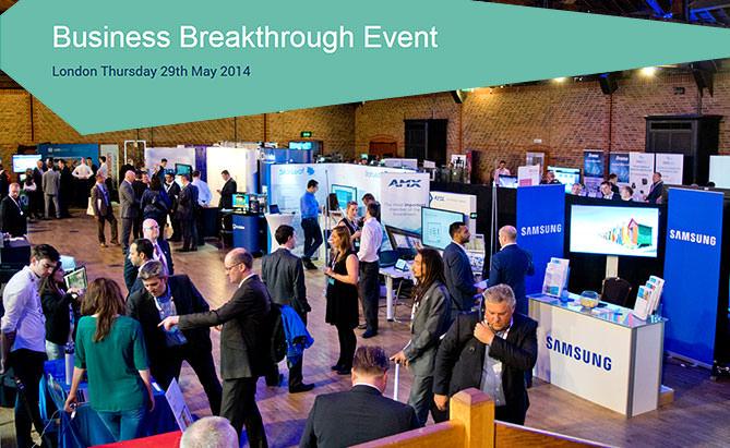 Business Breakthrough Event 2014