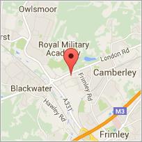 Cinos Head Office - Surrey Map