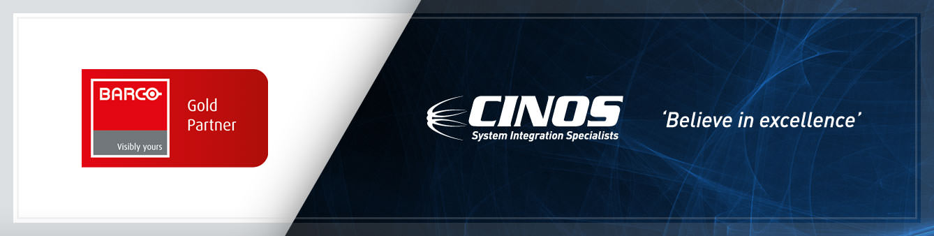 Cinos are a Barco Gold Partner