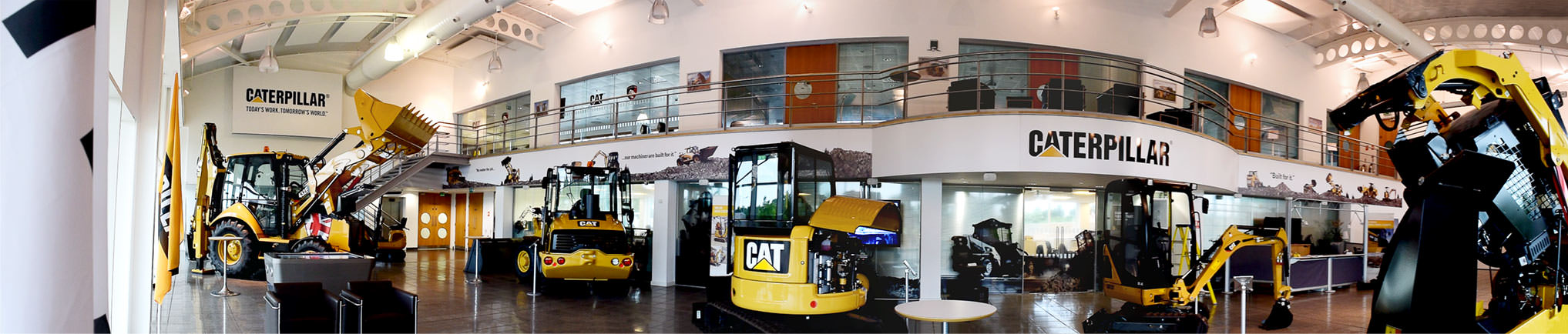 Caterpillar Training and Visitor Centre, Desford, Leicestershire