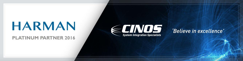 Cinos are a HARMAN Platinum Partner