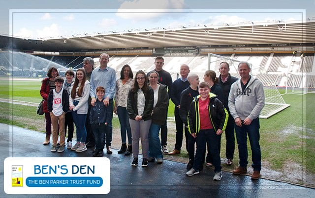 Ben's Den Charity at DCFC | Cinos