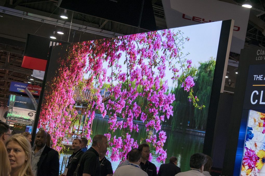 Leyard 8K Video Wall at InfoComm 2016 | Cinos