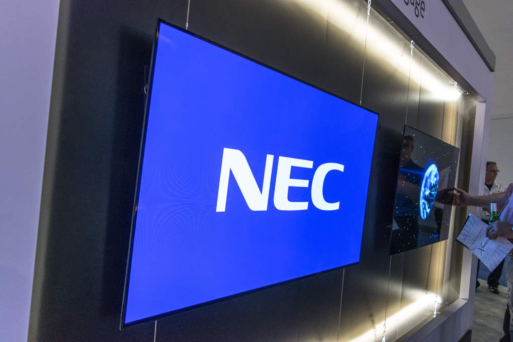 NEC OLED Display at InfoComm 2016 | Cinos