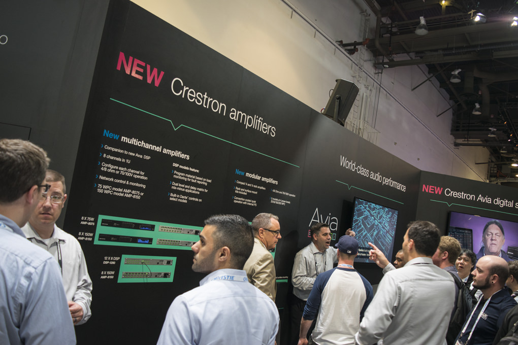 Crestron Modular and Multichannel Amplifiers at InfoComm 2016 | Cinos