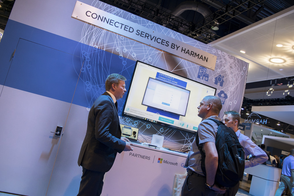 Connnected Services from HARMAN at InfoComm 2016 | Cinos