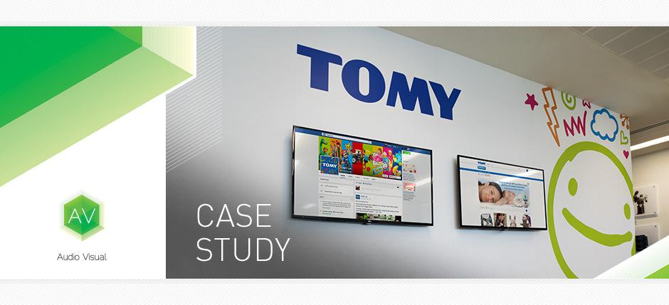 Tomy Audio Visual Case Study