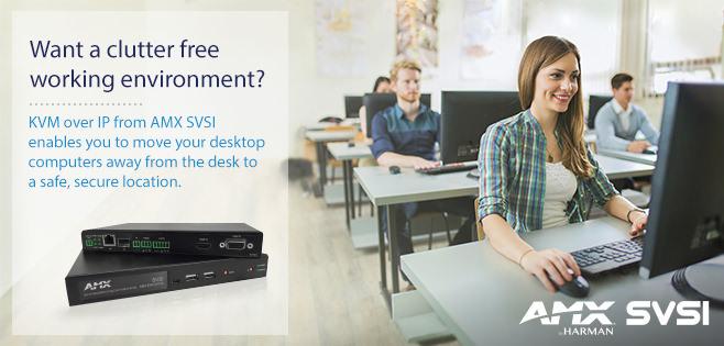 AMX SVSI Keyboard, Video and Mouse (KVM) over IP