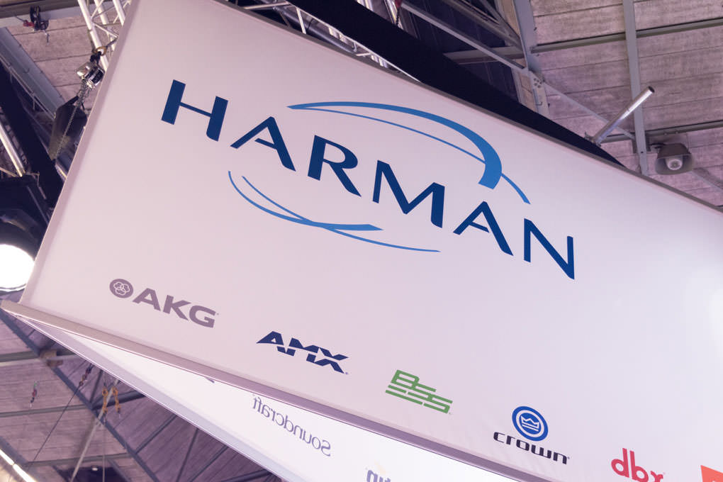 HARMAN Stand ISE 2017