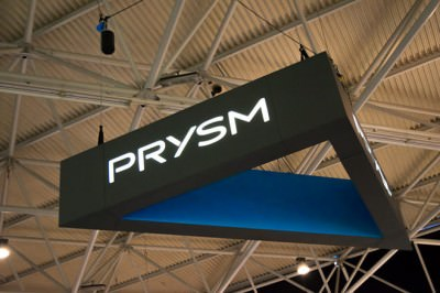 Prysm Stand ISE 2017