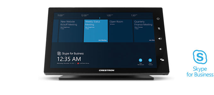Crestron RL 2 - Skype for Business in the Meeting Room