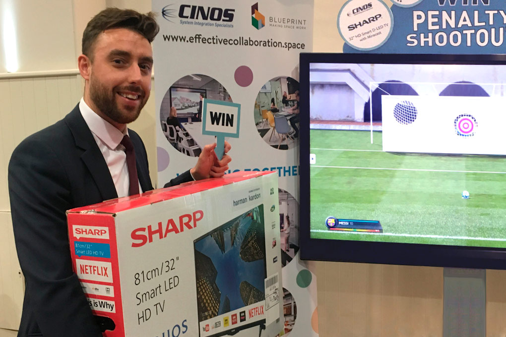 Winner of Sharp Smart TV
