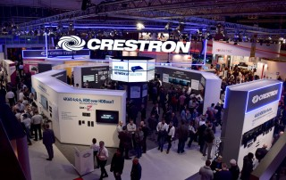 The Crestron Stand at ISE