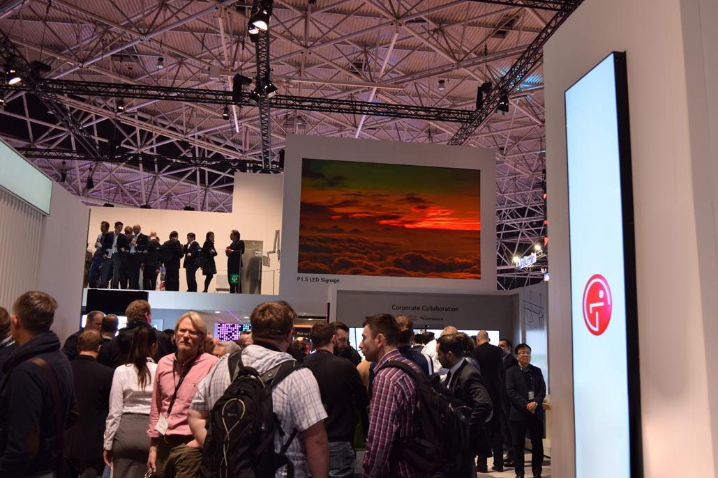 LG P1.5 LED Signage