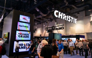 Christie Stand at InfoComm 2018
