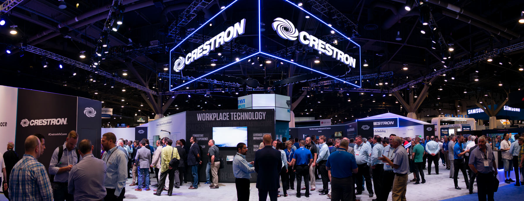 Crestron Stand at InfoComm 2018