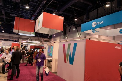VuWall Stand at InfoComm 2018