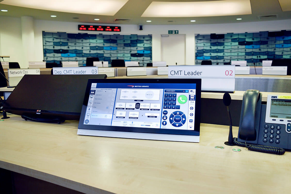 British Airways Crisis Management Centre | Cinos