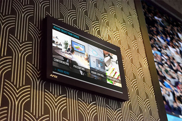 "AMX Wall mounted 10.1"" Modero Touch Panel"