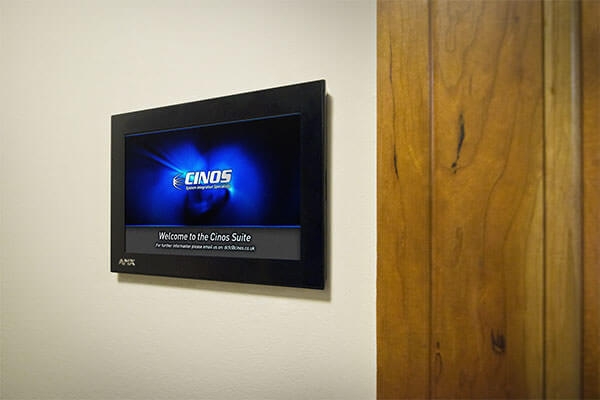"AMX 7"" Modero S® Series Wall Mount Touch Panel"