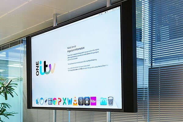 Cinos deliver meeting room solution for ITV