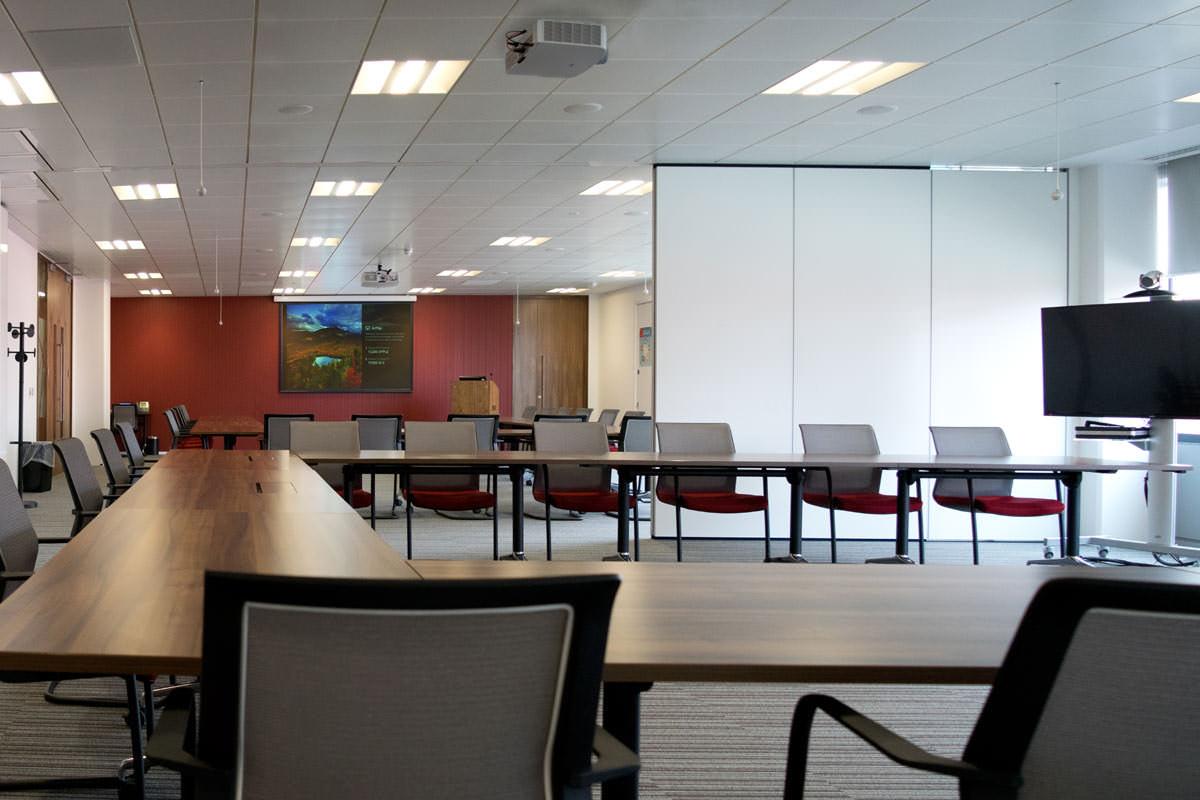 Audio Visual Head Office Relocation Project | Cinos