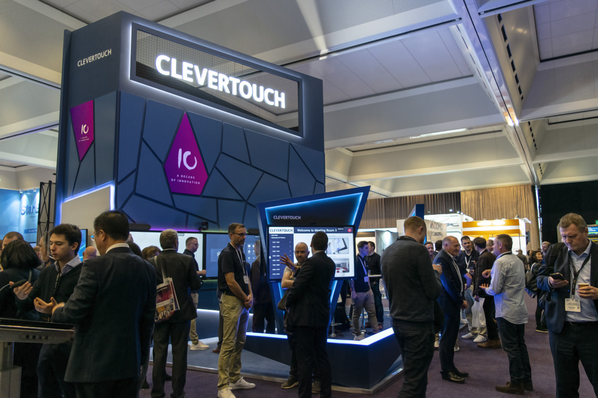 Clevertouch Stand ISE 2019