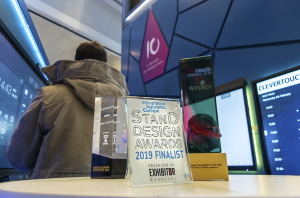 Clevertouch Stand Design Awards 2019 Finalist