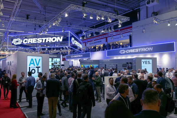Crestron Stand ISE 2019
