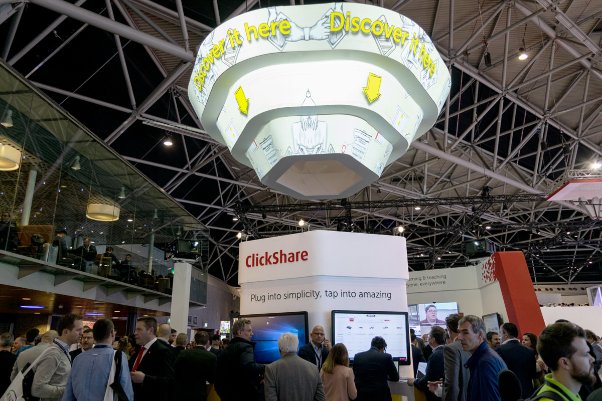 Barco Stand ISE 2019