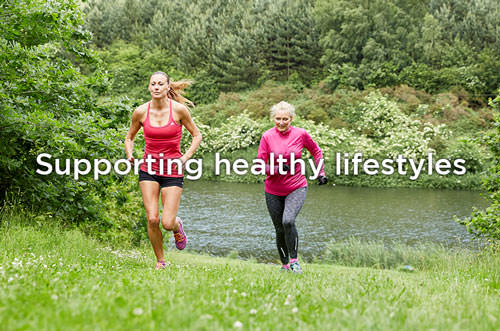 Supporting healthy lifestyles