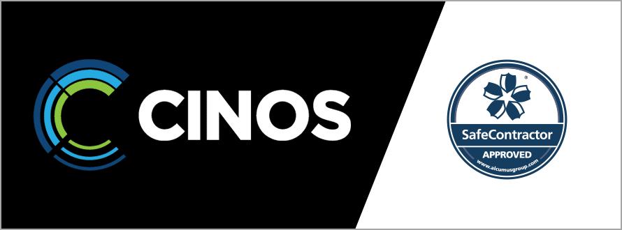 Cinos Extend SafeContractor Accreditation