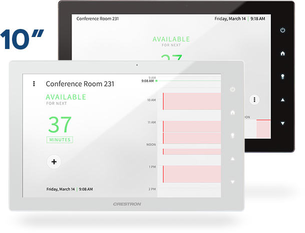 Crestron TSS-10 Room Scheduling Panel