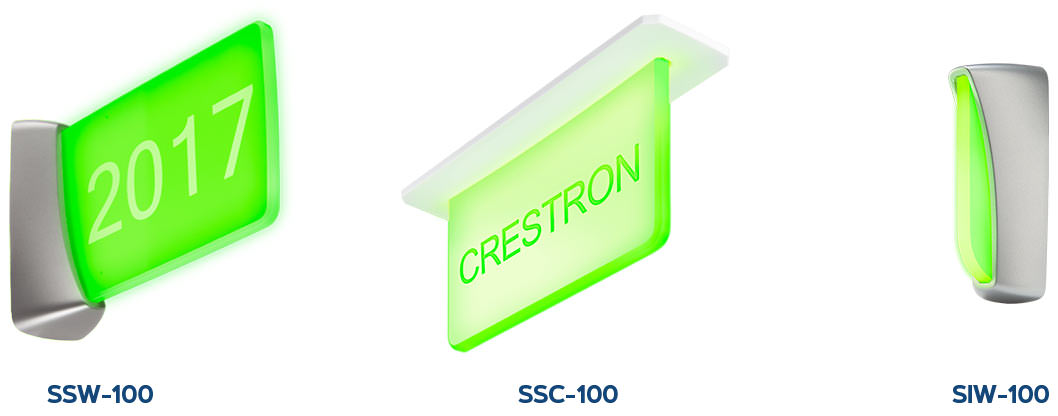 Crestron Room Scheduling Indicators