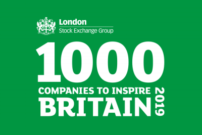Cinos named in London Stock Exchange Group's '1000 Companies to Inspire Britain' 2019 report