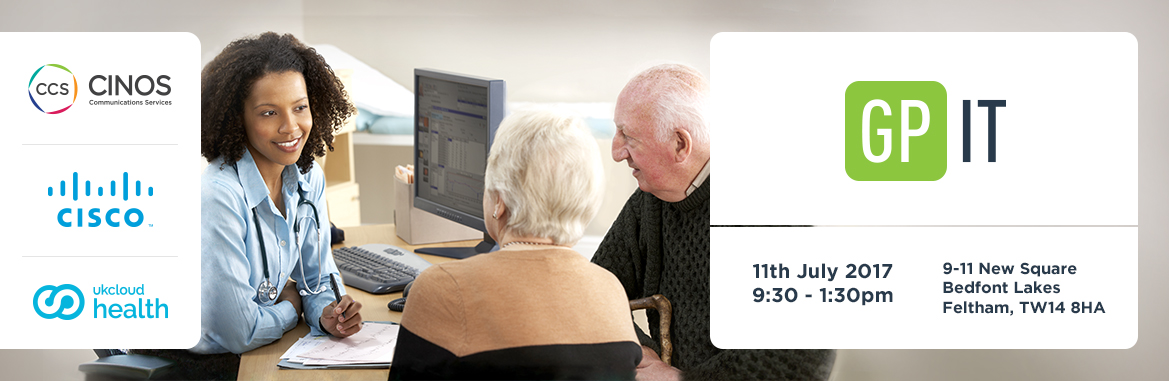 Don't miss out on our GP IT event – register now for free.