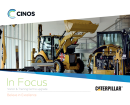Download our Case Study - Cinos upgrade the Caterpillar Visitor and Training Centre
