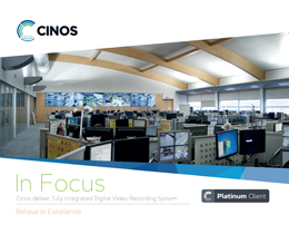 Download our Case Study - inos deliver fully integrated Digital Video Recording System