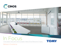 Download our Case Study - Cinos assist Tomy with their European Head Office Relocation Project