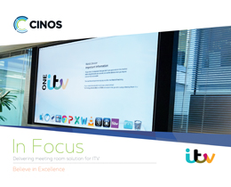 Download our Case Study - Cinos Deliver Meeting Room Solution for ITV