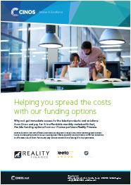 Download the Cinos Finance Brochure