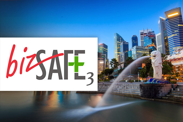 Cinos PTE Achieves BizSAFE 3 status for workplace health and safety