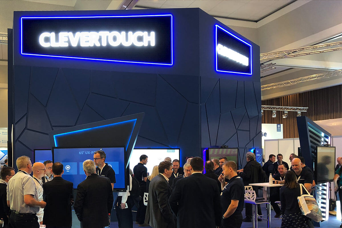 The Clevertouch Stand at ISE 2020