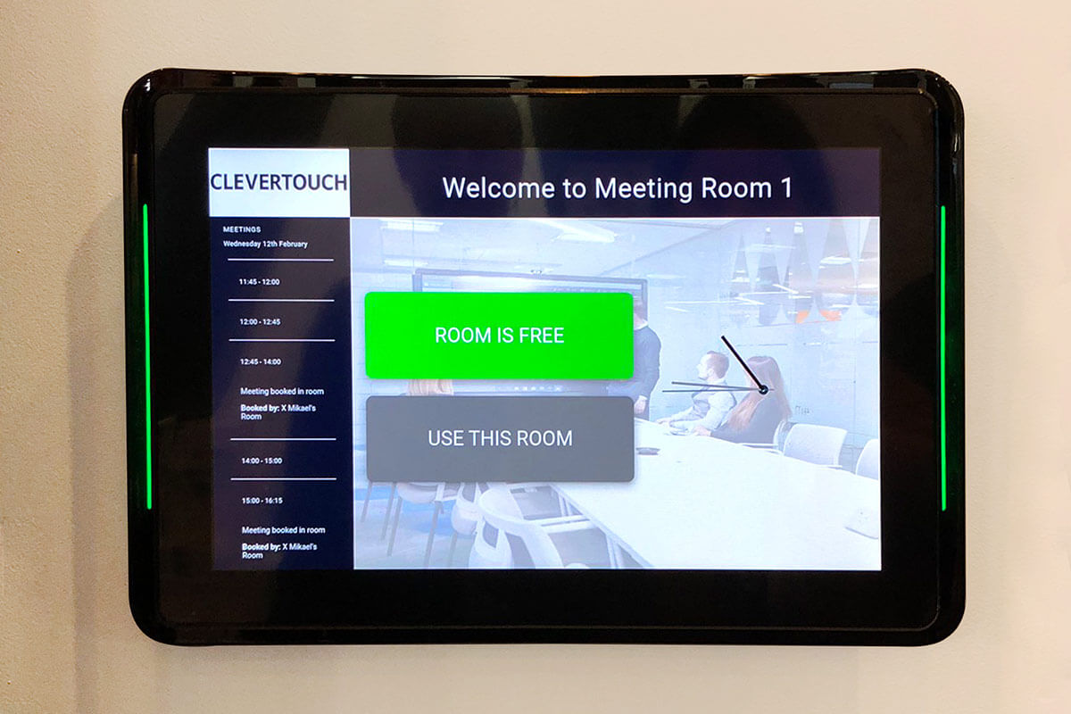 Clevertouch Room Booking Panel