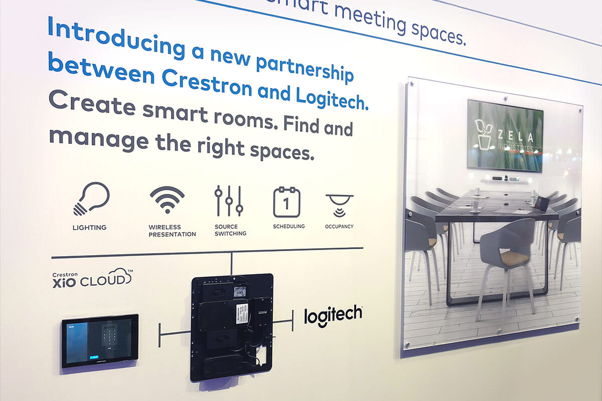 Crestron and Logitech enter strategic partnership