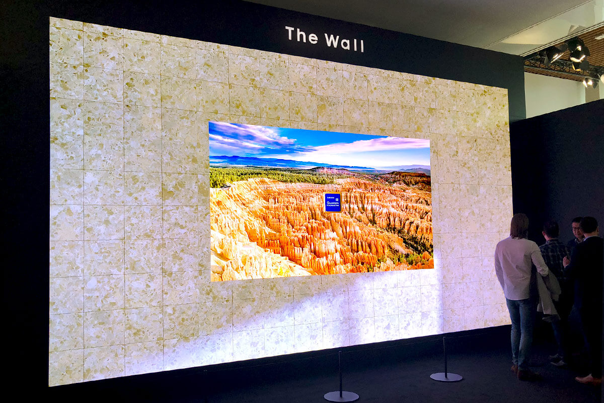 The Wall from Samsung at ISE 2020