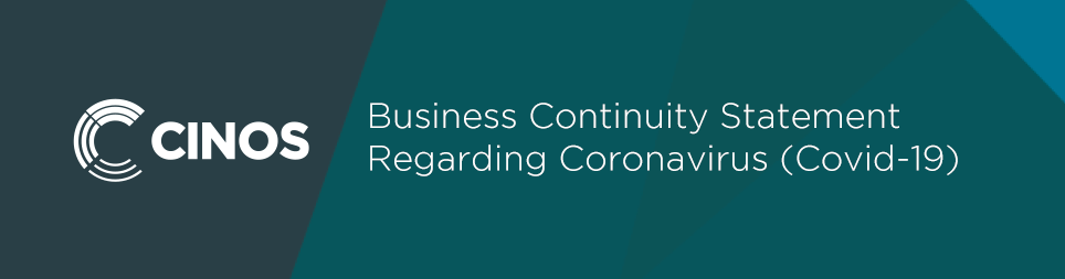Cinos Business Continuity Statement