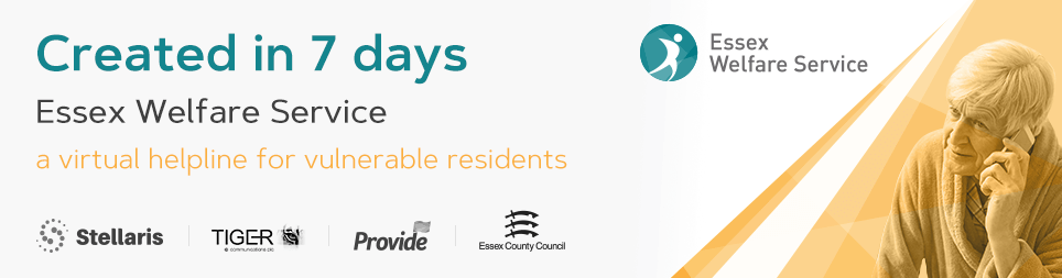 Cinos helps Essex County Council and Provide CIC launch virtual helpline for vulnerable residents in seven days