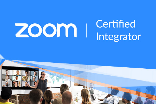 Cinos recognised as Zoom Rooms Certified Integrator Partner